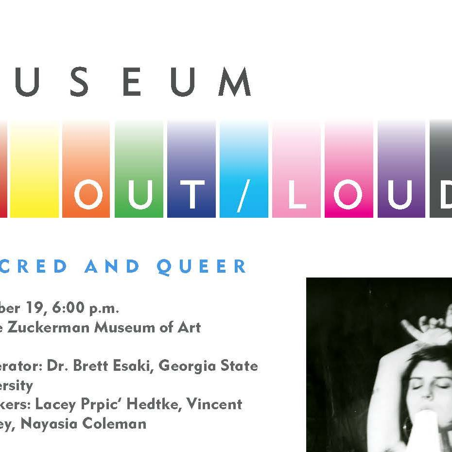 Museum OUT/LOUD flyer